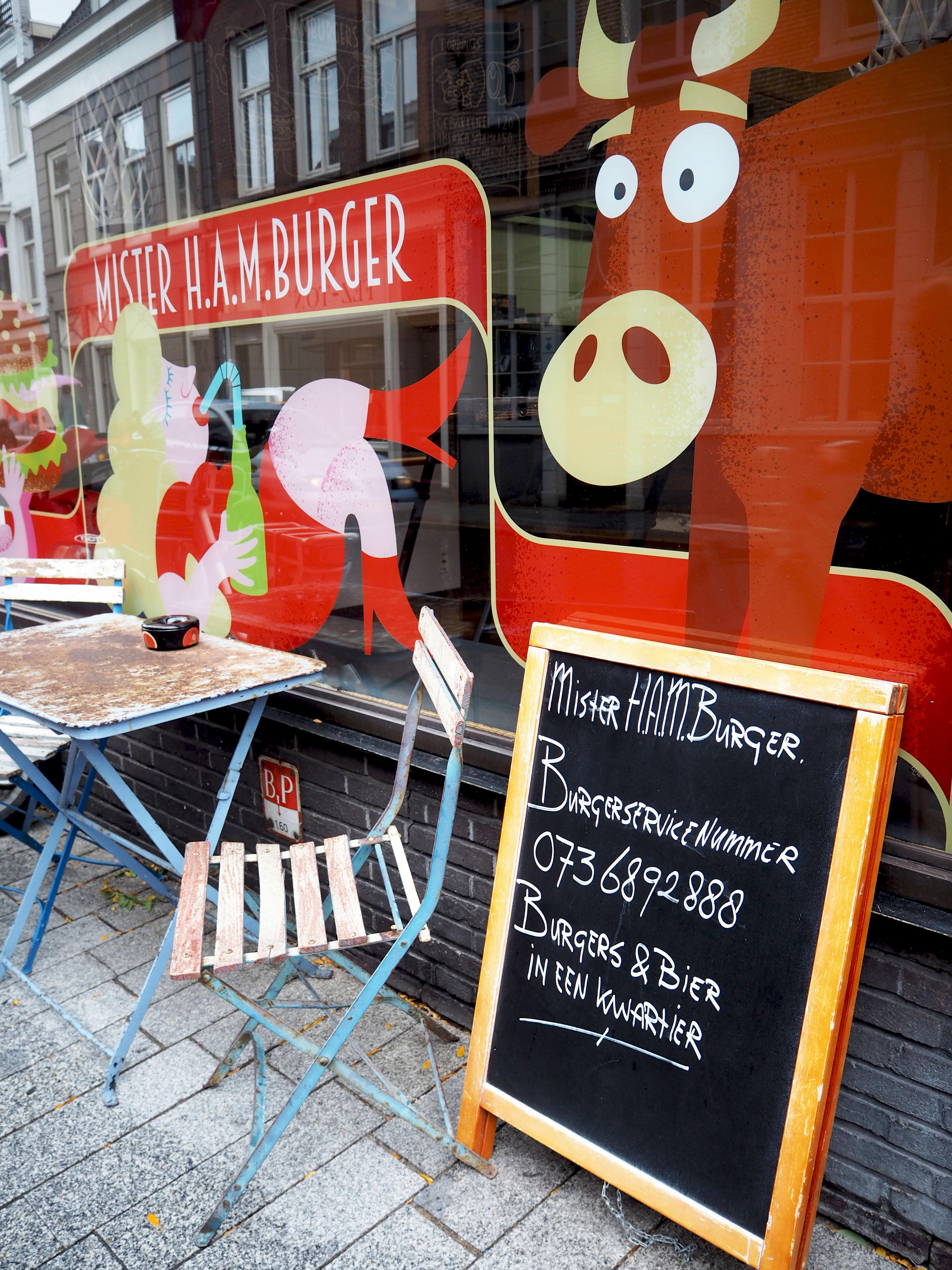 foodtour typisch bosch Mister H.A.M.burger