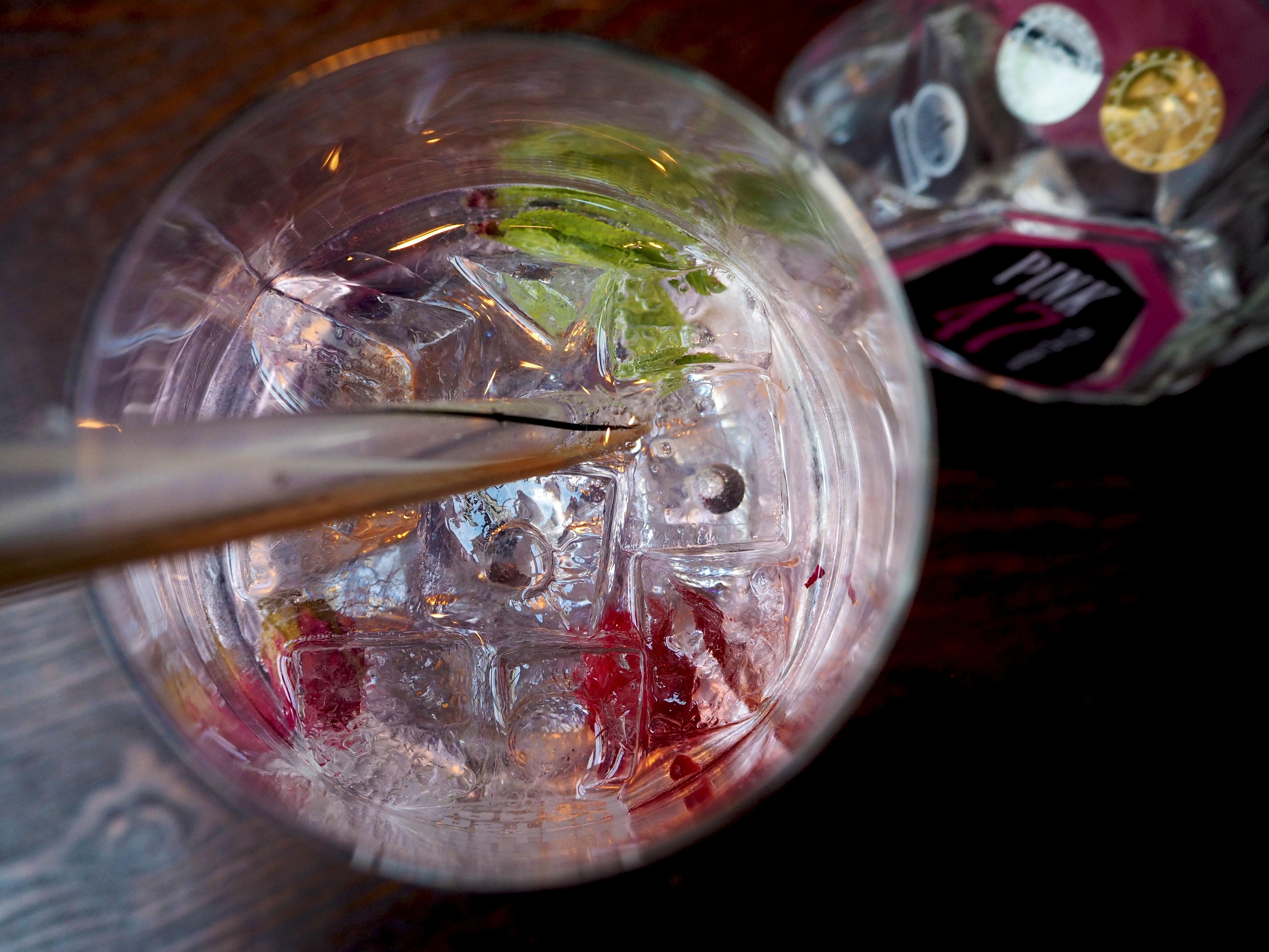 pink 47 gin tonic