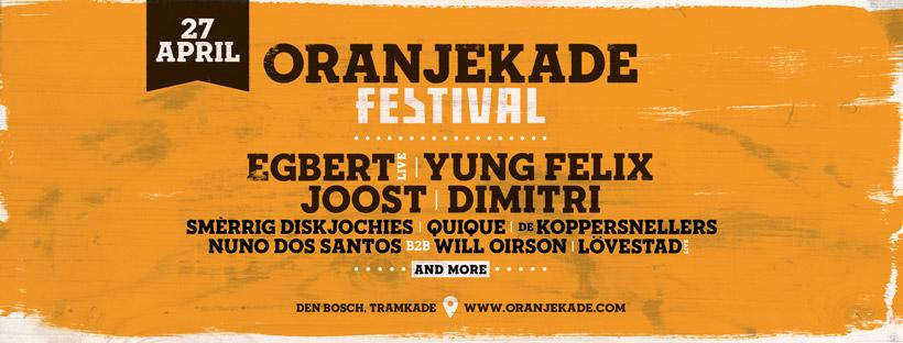 Oranjekade Festival Koningsdag 2019