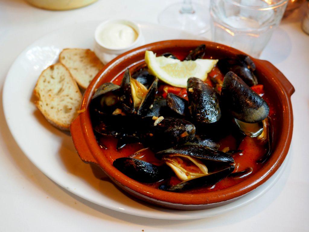 catalaanse mosselen Montimar restaurant