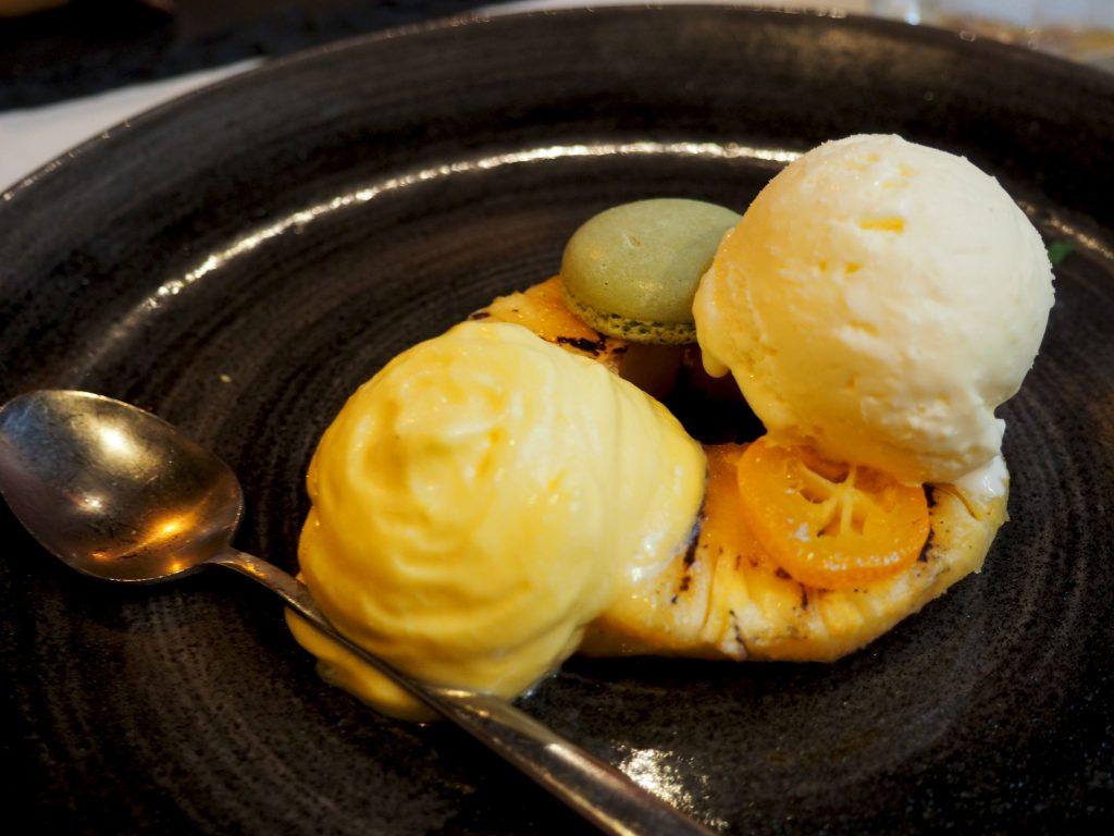 tropical dessert bij Montimar Rosmalen