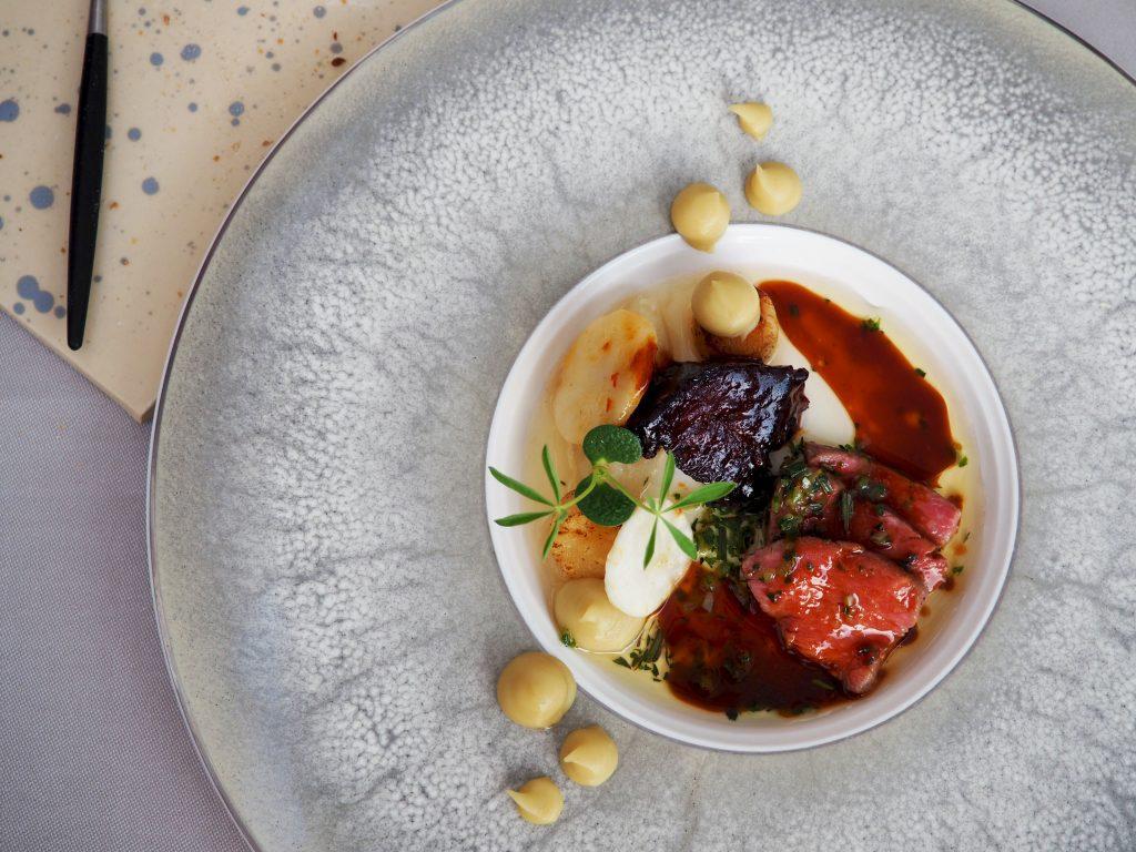Chef's Challenge Menu bij Sense Restaurant