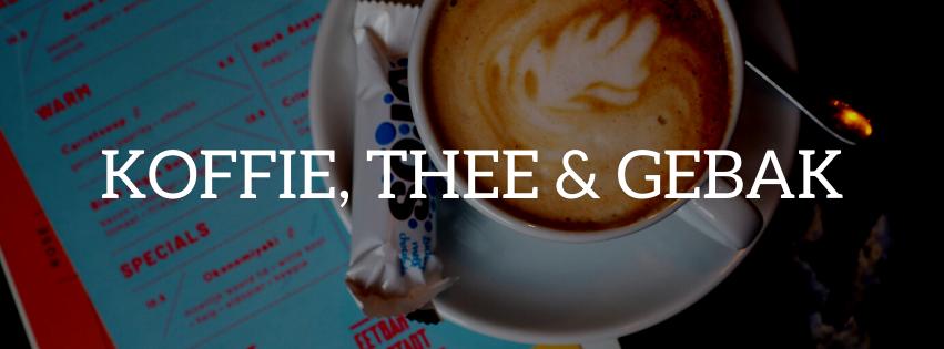 koffie, thee gebak in Den Bosch